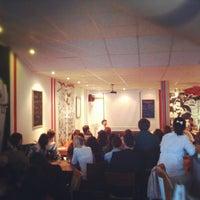 Photo taken at Kafe Nervosa by Roman M. on 4/25/2012