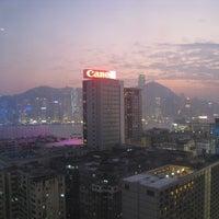 Photo taken at Hyatt Regency Hong Kong Tsim Sha Tsui by C Y. on 2/17/2012