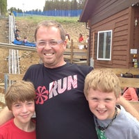 Photo taken at Gold Runner Alpine Coaster by Marc L. on 7/27/2012