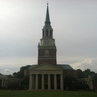 Photo taken at Wake Forest University by Brittney M. on 8/7/2012