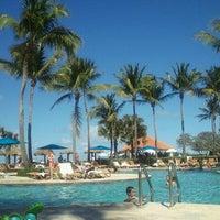Photo taken at Wyndham Grand Rio Mar Beach Resort & Spa by Michelle J. on 2/17/2012