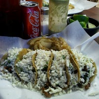 Photo taken at Mr Taco by Angelica O. on 7/11/2012