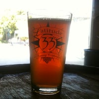 Photo taken at Latitude 33° Brewing by Grant M. on 4/28/2012