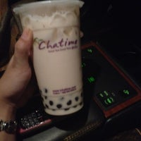 Photo taken at Chatime by Christine S. on 2/21/2012