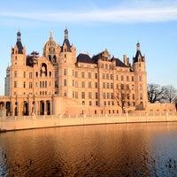 Photo taken at Schweriner Schloss by Bernhard K. on 4/8/2012