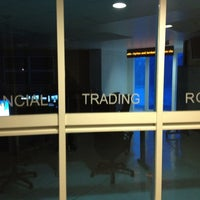 Photo taken at Financial Trading Room by Humberto on 8/11/2012