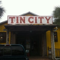 Photo taken at Tin City by Stacey D. on 6/1/2012