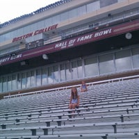 Photo taken at Alumni Stadium by Matthew K. on 7/5/2012