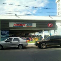 Photo taken at Drogaria Araujo by Bernardo M. on 6/15/2012