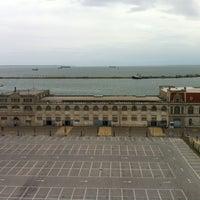 Photo taken at Thessaloniki Port by Z M. on 4/16/2012