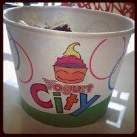 Photo taken at Yogurt City by Jessica C. on 7/24/2012