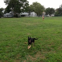 Photo taken at Hawthorn St Dog Park by Jim N. on 8/11/2012