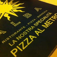 Photo taken at Pizzeria Alba by Maurizio T. on 3/27/2012