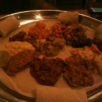 Photo taken at Blue Nile Café by Kelly C. on 3/27/2012