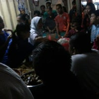 Photo taken at Sego Sambel Mak Yeye by Frengky W. on 7/28/2012