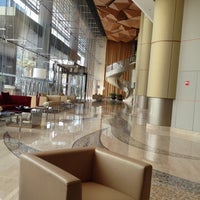 Photo taken at Kempinski Grand Hotel by R on 3/16/2012