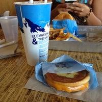 Photo taken at Elevation Burger by Bella K. on 6/27/2012