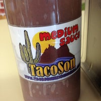 Photo taken at TacoSon by Joey A. on 8/20/2012