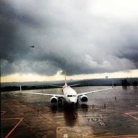 Photo taken at Mangalore International Airport by Sonia R. on 7/2/2012