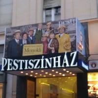 Photo taken at Pesti Színház by viktoria on 4/10/2012