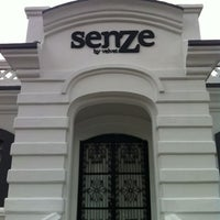 Photo taken at Senze by Mario A. on 2/14/2012