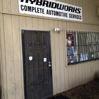 Photo taken at Hybridworks - Automotive Services by Cody W. on 4/13/2012
