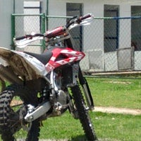 Photo taken at Escuela De Motocross MX2 by Hector G. on 7/21/2012