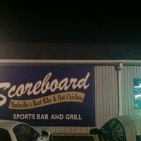 Photo taken at Scoreboard Bar & Grill by David W. on 3/29/2012