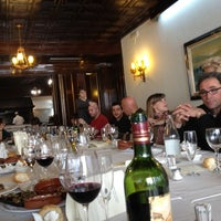 Photo taken at Sant Bernat Restaurant by Xavier C. on 3/17/2012