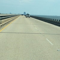 Photo taken at Lake Pontchartrain Causeway by Casey on 6/15/2012