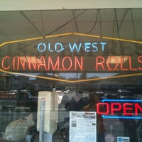 Photo taken at Old West Cinnamon Rolls by Brian J. on 6/24/2012