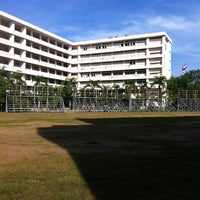 Photo taken at Nawamintharachinuthid Horwang Nonthaburi School by MilkPanth C. on 9/5/2012