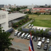 Photo taken at Nawaminthrachinuthit Bodindecha School by Changpchr on 7/24/2012
