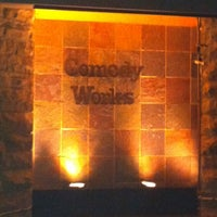 Photo taken at Comedy Works Downtown in Larimer Square by Lisa F. on 2/18/2012