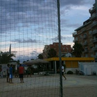 Photo taken at Stabilimento La Vela by Monica F. on 8/13/2012