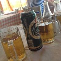 Photo taken at To souvlaki tou Pepe by Mariaki T. on 8/9/2012