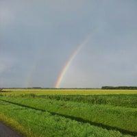 Photo taken at LOFAR field Koedijk by Robin K. on 7/11/2012
