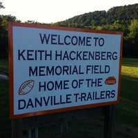 Photo taken at Keith Hackenberg Memorial Field by Fun Box B. on 7/25/2012