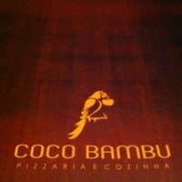 Photo taken at Coco Bambu Pizzaria & Cozinha by Denise P. on 5/11/2012