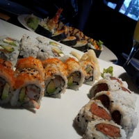 Photo taken at Zake Sushi Lounge by Andy W. on 6/26/2012