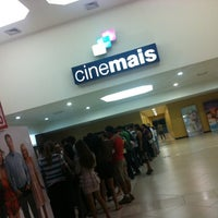 Photo taken at Cinemais by Jany A. on 4/16/2012