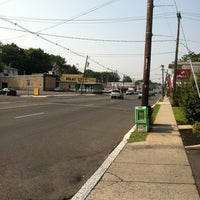 Photo taken at Linden & Wood Ave by George L. on 8/17/2012