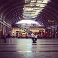 Photo taken at Stockholm Central Railway Station by Lanja A. on 7/24/2012