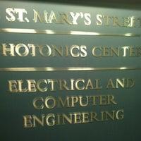 Photo taken at Boston University Photonics Center by michael p. on 2/14/2012