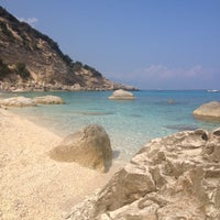 Photo taken at Spiaggia dei Gabbiani by Giada R. on 9/10/2012