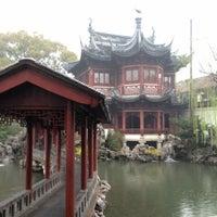 Photo taken at Yu Garden by Jay J.J. H. on 3/31/2012