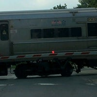Photo taken at LIRR - Nassau Blvd Station by Van S. on 6/8/2012