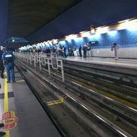 Photo taken at Metro Einstein by Don Israel Arcos on 4/18/2012