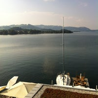Photo taken at Hotel Traunsee by Meinrad G. on 7/26/2012