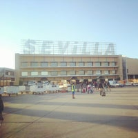 Photo taken at Seville Airport (SVQ) by Shayan S. on 6/8/2012